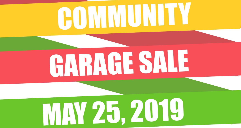 Community Garage Sale 2019 Meridian Meadows
