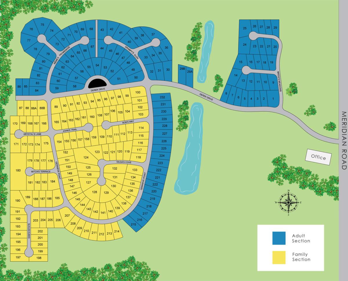Meridian-Meadows-Map